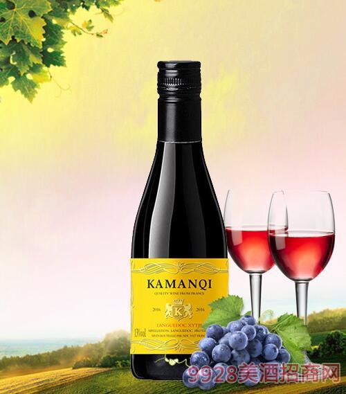 卡曼琪皇爵干红葡萄酒13度187ml
