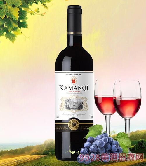卡曼琪精选干红葡萄酒750ml-1