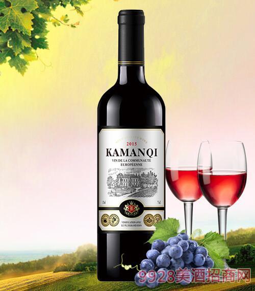 卡曼琪精选干红葡萄酒750ml-3