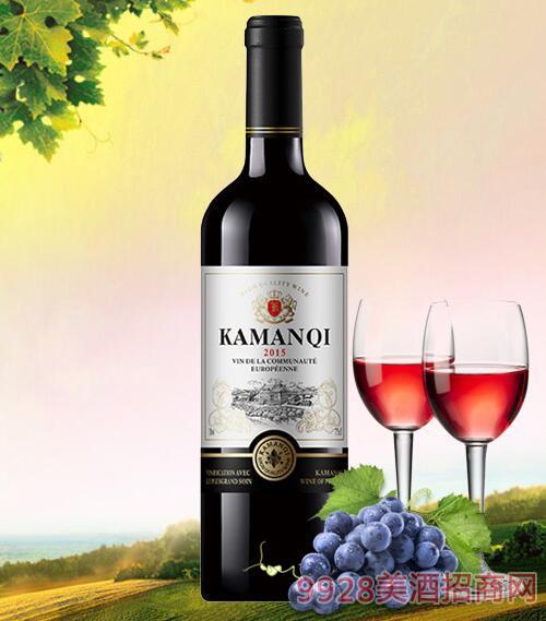 卡曼琪精选干红葡萄酒750ml-4