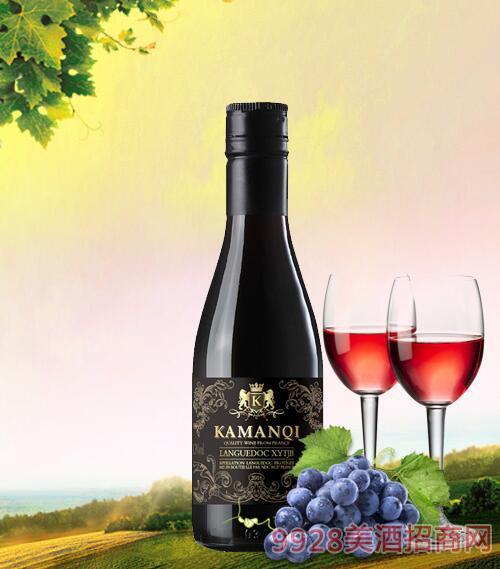 卡曼琪巴隆干红葡萄酒13度187ml
