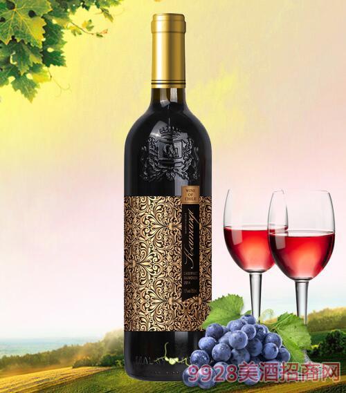 智利卡曼琪雷顿干红葡萄酒13度750ml
