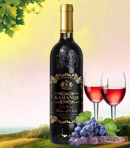 卡曼琪干红葡萄酒黑标