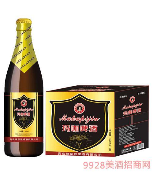 驿青春玛咖啤酒500mlx12