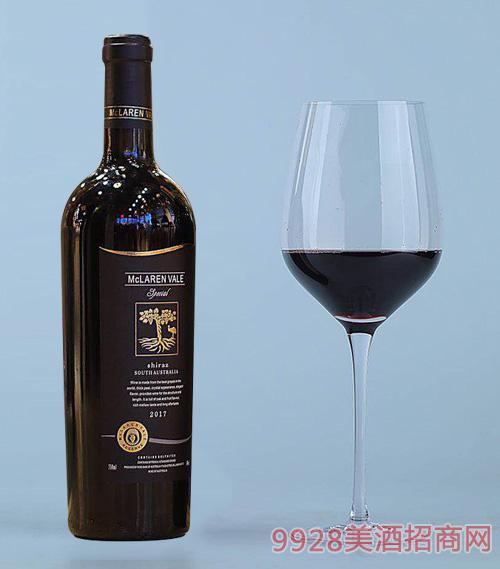 麦克拉伦谷・西拉珍藏干红葡萄酒14度750ml