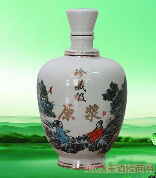 珍藏级原浆酒陶瓷装