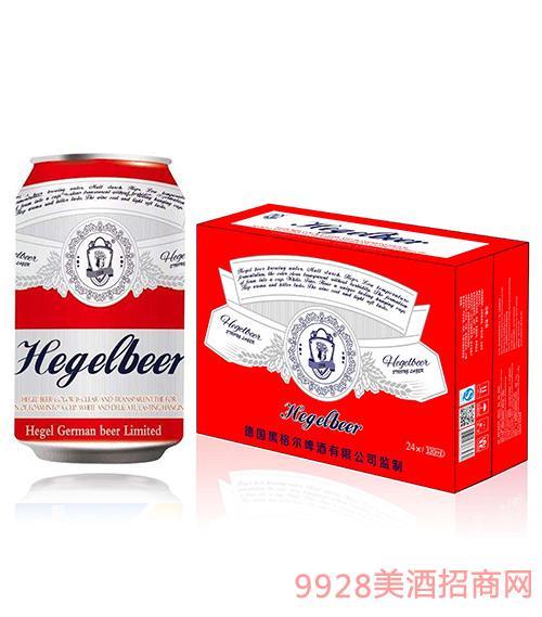 黑格尔啤酒红罐箱装320ml