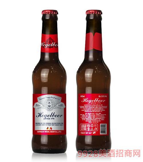 黑格��啤酒460ml瓶�b