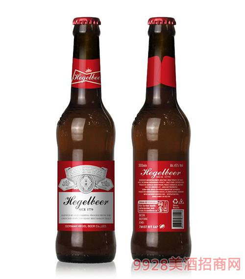 黑格爾啤酒300ml瓶裝