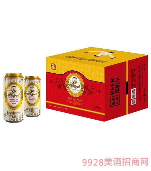 黑格爾原漿白啤500mlx12