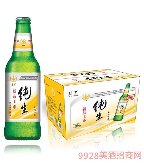 金稞纯生风味啤酒316mlx24