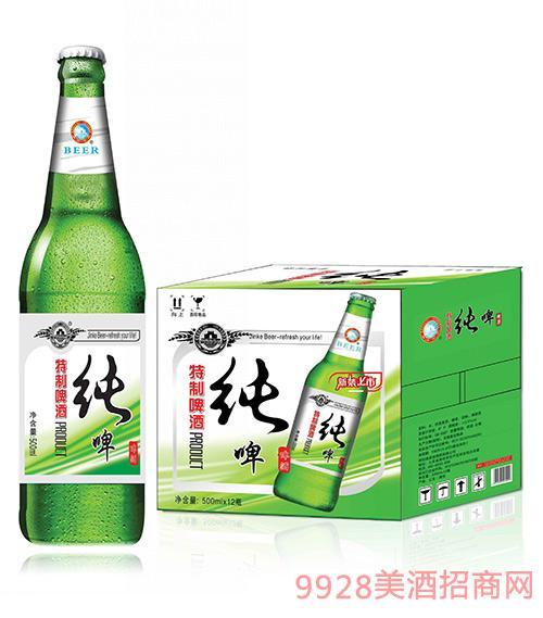 金稞特制纯啤500mlx12瓶