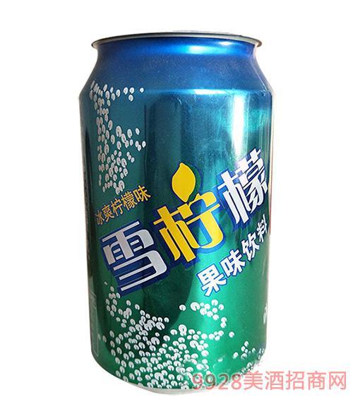 雪柠檬果味饮料320ml