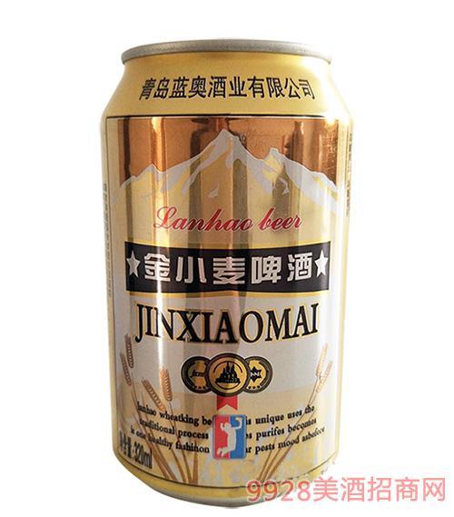 金小麦啤酒320ml