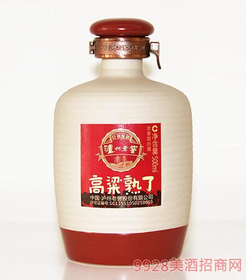 泸州老窖高粱熟了500ml