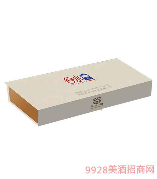 谷小白酒�Y盒40度100mlx10