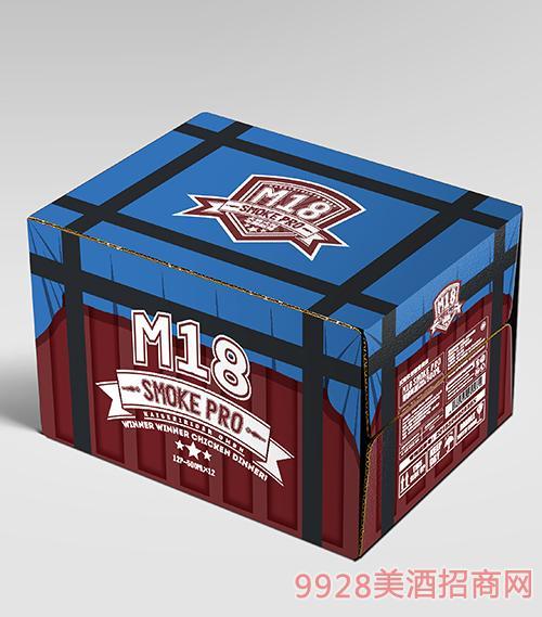 M18烟雾弹造型精酿啤酒(箱)500mlx12