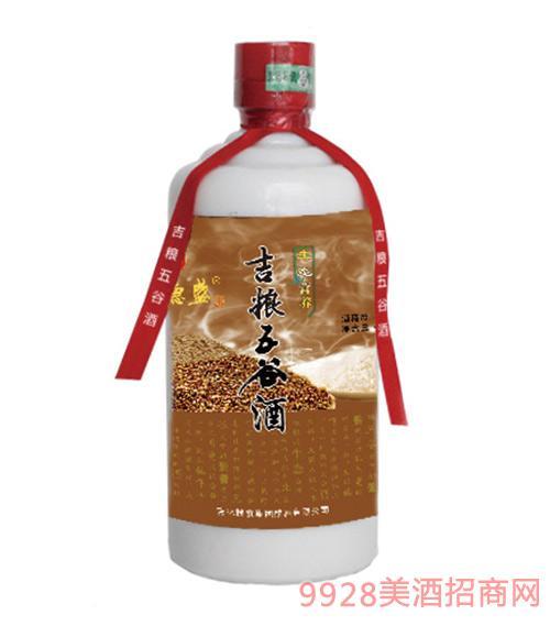 天德盛吉�Z五谷酒36度480ml