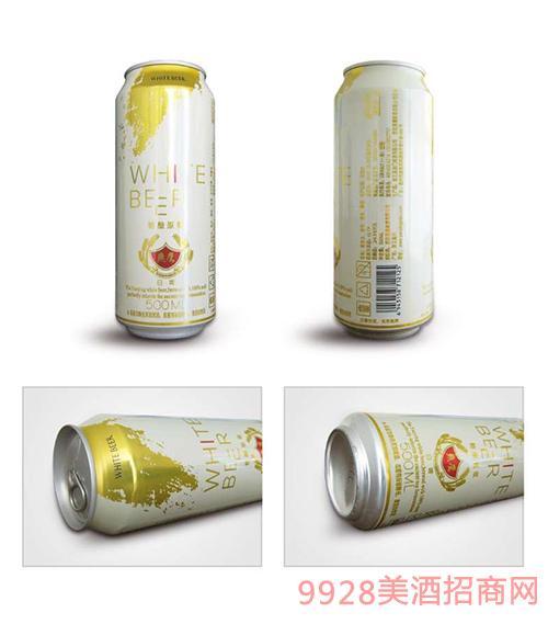 燕鹰精酿原浆白啤酒500ml