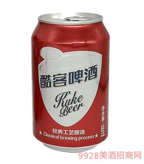 百威雁蕩山酷客啤酒330ml