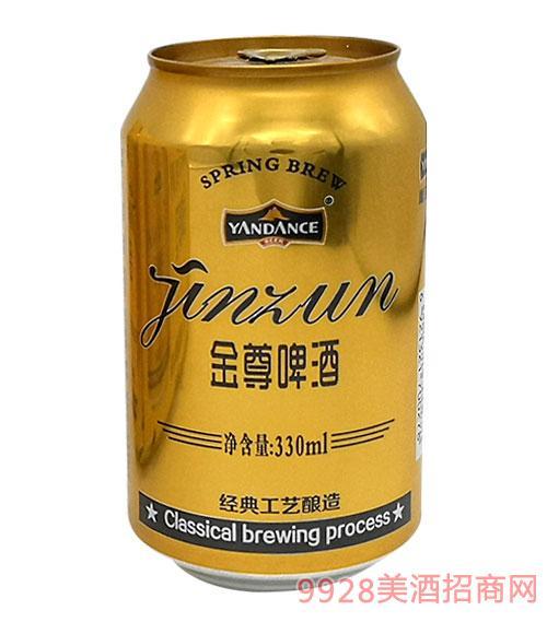 百威雁蕩山金尊啤酒330ml