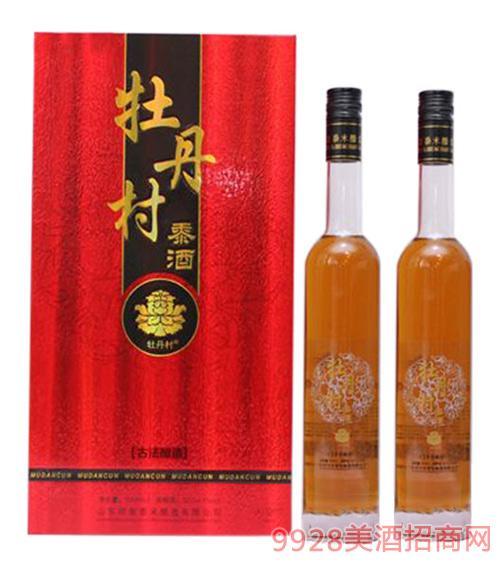 牡丹村黍酒32度