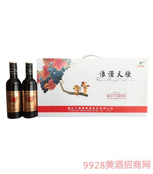 浪漫天使美乐干红葡萄酒