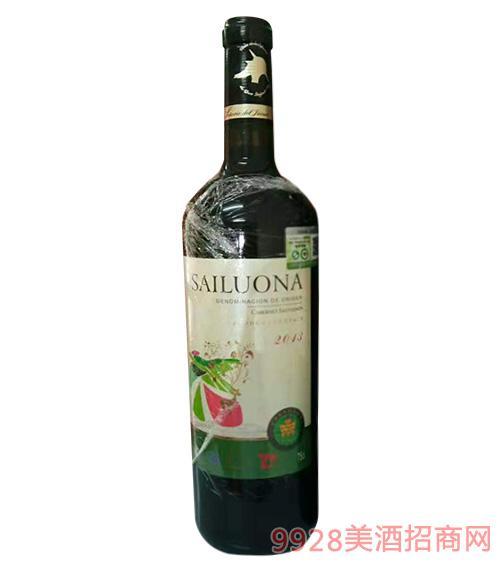 赛罗娜·赤霞珠有机干红葡萄酒750ml