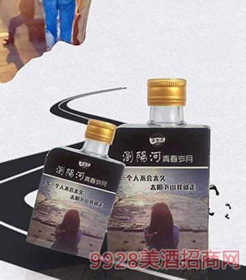 浏阳河青春岁月小酒:等一个人,等一个故事42度100ml