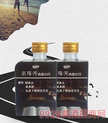 浏阳河青春岁月小酒:致我们终将逝去的青春42度100ml