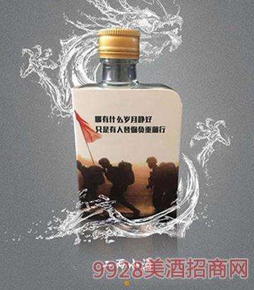浏阳河青春岁月二两小酒42度