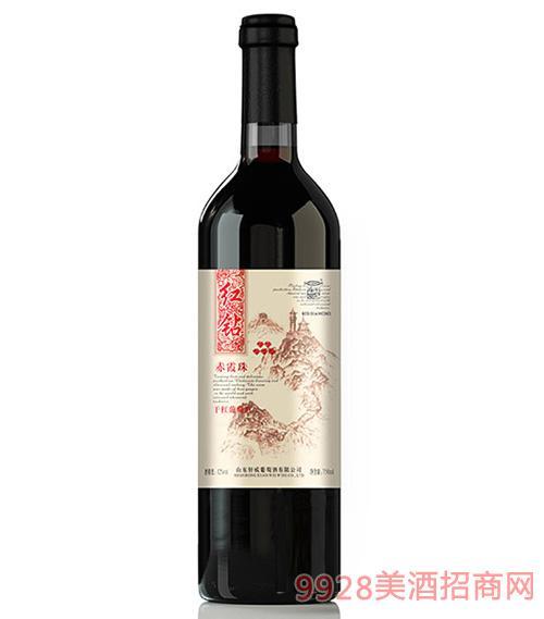轩威红钻赤霞珠干红葡萄酒750ml