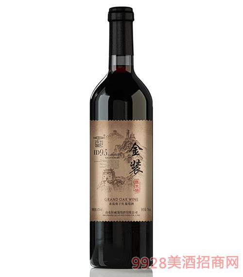 轩威金装ID95赤霞珠干红葡萄酒750ml