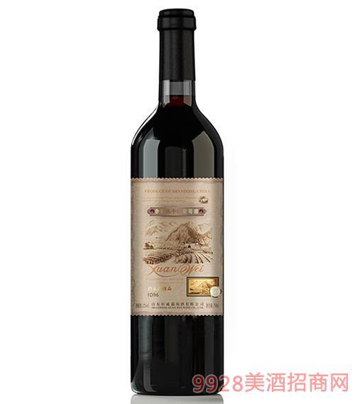 轩威精品ID96赤霞珠干红葡萄酒750ml