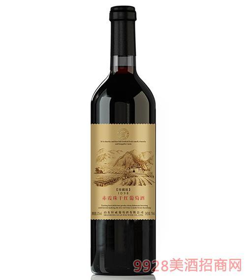 轩威珍藏版ID98赤霞珠干红葡萄酒750ml
