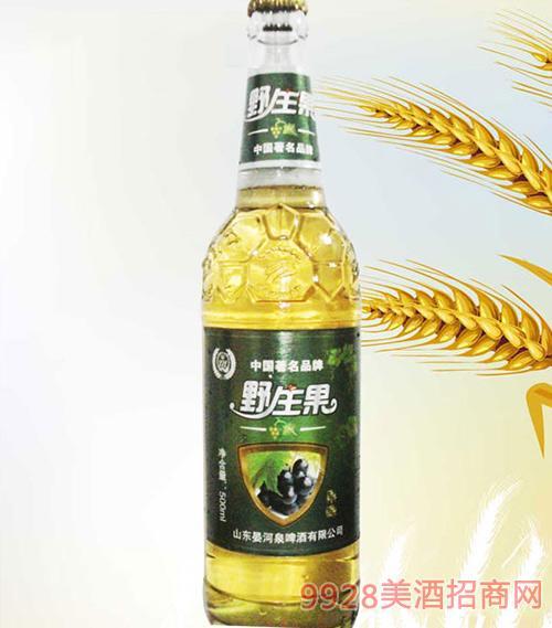 500ml白瓶野生果啤