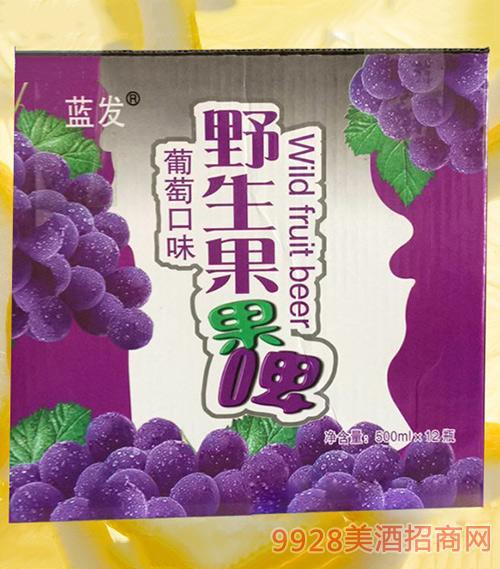 野生果果啤葡萄味500mlx12
