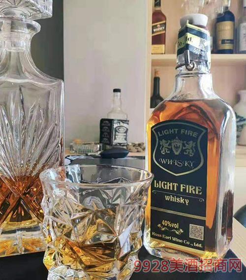 英格兰灯之火精品威士忌40度