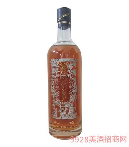 英格�m�糁�火精品威士忌40度500ml