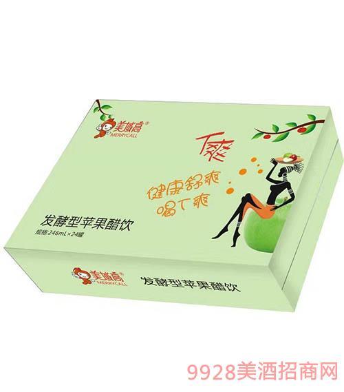 美域高�l酵型�O果醋�246mlx24