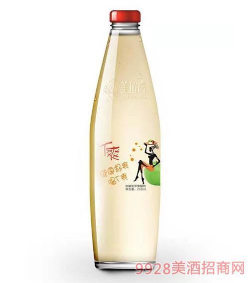 美域高�l酵型�O果醋�268ml