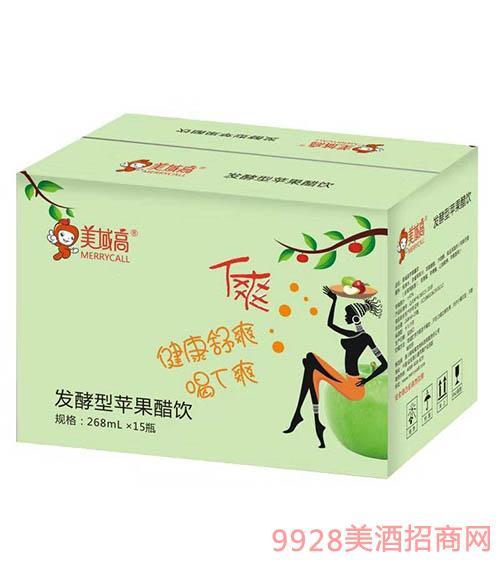 美域高发酵型苹果醋饮268mlx15