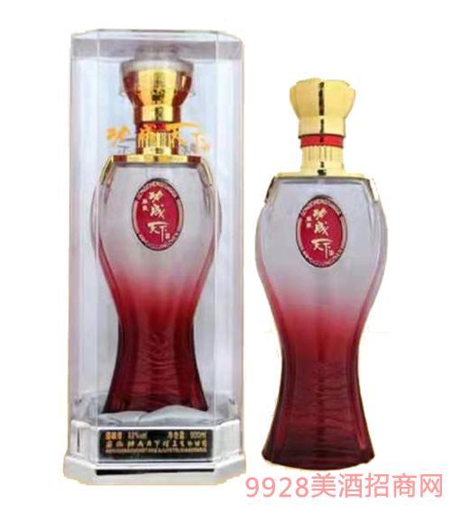 功成天下酒透明盒(红)52度500ml