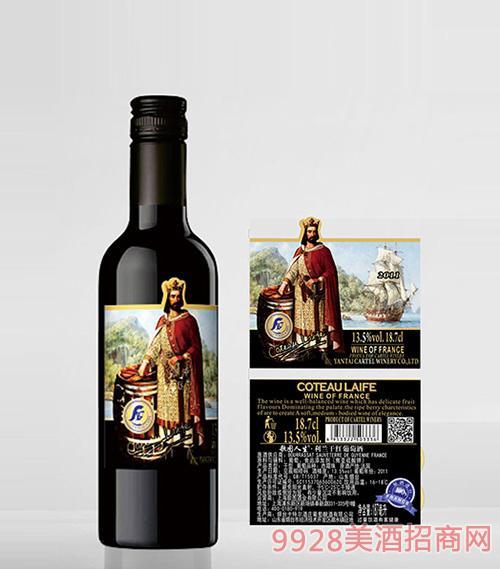 歌图人生 国王 利兰干红葡萄酒13.5度187ml