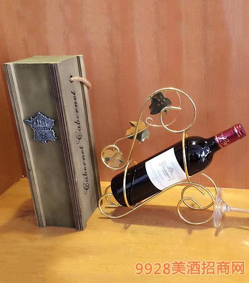圣克丽多法国原瓶进口干红葡萄酒