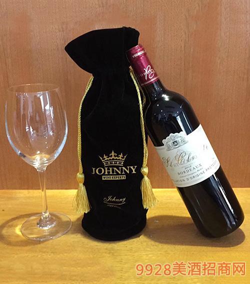 洛芙法国原酒原瓶进口干红葡萄酒2012