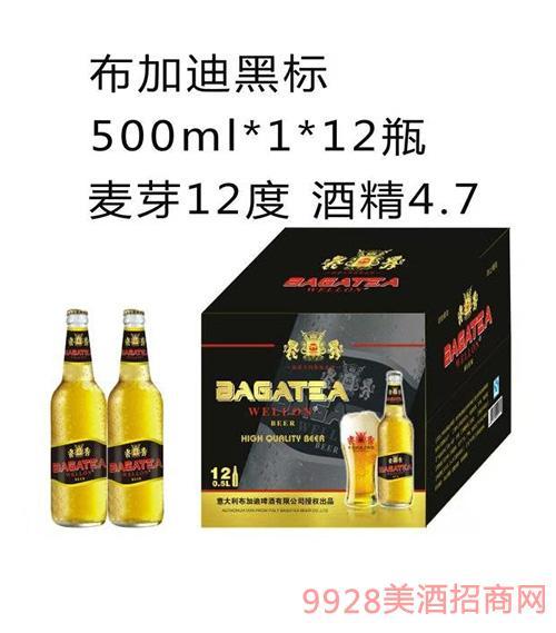 BJ005-500ml布加迪啤酒黑标