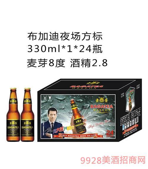 BJ001-330ml布加迪夜场方标啤酒