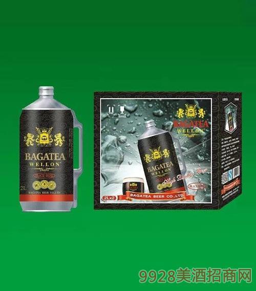 BJ017-2升布加迪桶黑啤啤酒