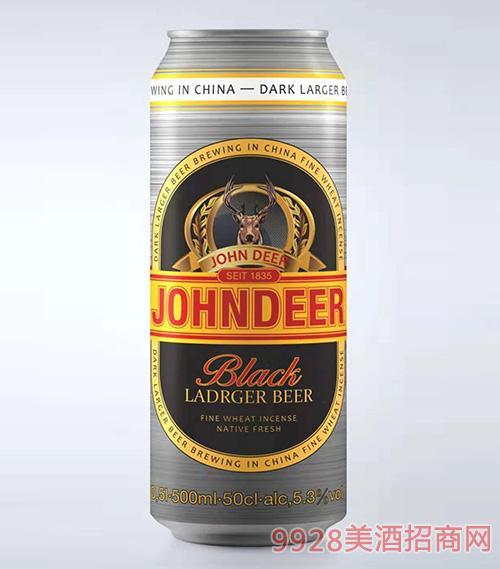 約翰鹿黑啤500ml